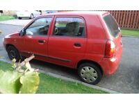 Suzuki Alto 1.0L cheap road tax, cheap to run