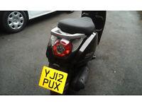beeline memory scooter 2012, 49cc