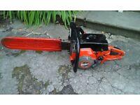 Johnseared petrol chainsaw