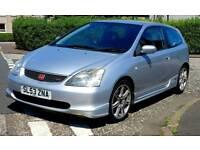 Honda Civic Type-R EP3, 2.0L petrol, 6 speed manual, cheap
