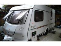 2001 Elddis Avante 482 caravan & motor mover