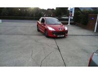 *Red Peugeot 207 model for sale