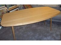 Brand New - HABITAT IDA SOLID OAK Drop Leaf DINNING or HALL TABLE Elegantly Stunning and Very Sturdy
