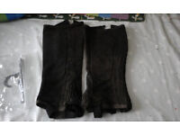 loveson adult half chaps large