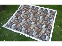 cat picture blanket rug