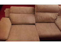 Brand new! Luxury Velvet 3 seater Power / Electric reclining sofa For AMAIZING PRICE