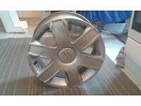 Citroën 16R alloy wheel - DAMAGED