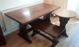 Dining Table - Refectory Style Solid Oak