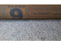 FREE- CLOUD 9 CARPET UNDERLAY 3.5m- FREE