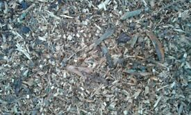 Decorative Bark Chippings & Composted Bark Mulch - 70L Bags. £4.50 each