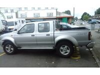 nissan navara 4x4 truck , new engine and clutch cost £1900. 2004.