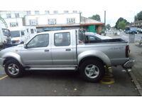 nissan navara 4x4 truck , new engine and clutch cost £1900. 2004.