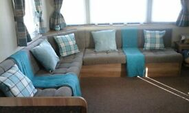 Deluxe 8 Berth Caravan Hire Haggerston Castle Holiday Park Northumberland /Berwick Scottish borders