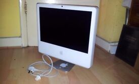 "iMac 20""/ INTEL CORE DUO 2GHZ / SPARES REPAIRS"