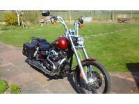 Harley Davidson Dyna Wide Glide 1585cc New Generation Model