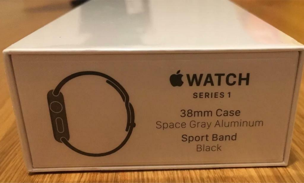Apple Watch series 1 38mm space grey - brand new, sealed, with 12 month warranty