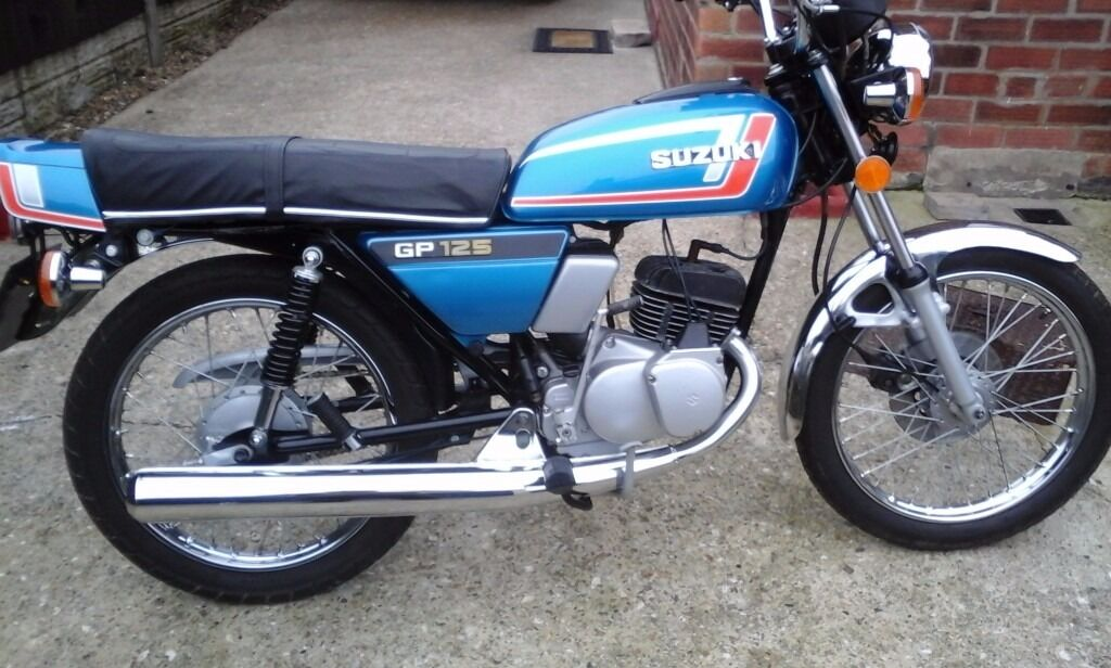 suzuki gp 125 | in Ruskington, Lincolnshire | Gumtree