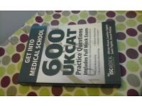 UKCAT 600 Get into Medical school BRAND NEW book essential for doctor training