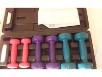 BARGAIN GYM ROWER< WEIGHTS & EXERCISE STEPPER