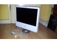 "iMac 20""/ INTEL CORE DUO 2GHZ/ 1GB / 250GB / ATI X1600 256MB GDDR3 / OS X 10.6.8 / SPARES"