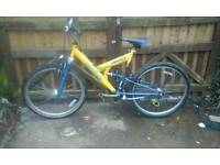 Full suspension mountain bike feel free to contact me