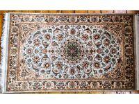 Woollen handmade carpet (used)