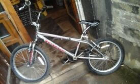 Falcon razor full chrome bmx