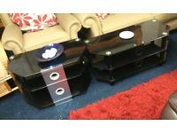 Smoke glass tv tables choice of 3*