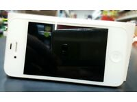 iPhone 4s white great condition