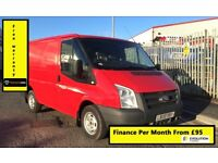 Ford Transit 2.2 260 SWB, 1 Owner From New, Full Service History, 1YR MOT,Warranty, Rear Sensors,95K