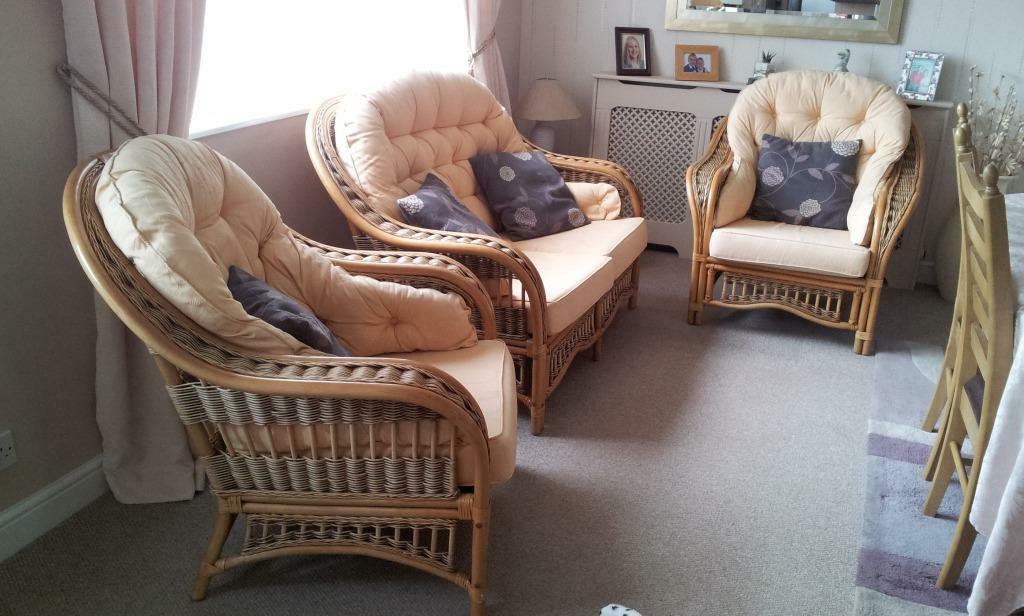 Three piece conservatory suite in ivybridge devon for Furniture 3 piece suites