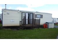 Static caravan sited brean somerset