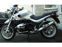 Bmw R1150 r Touring---2005-33k----Bmw service history to 27k--Recent new tyres -battery-mot--Silver.