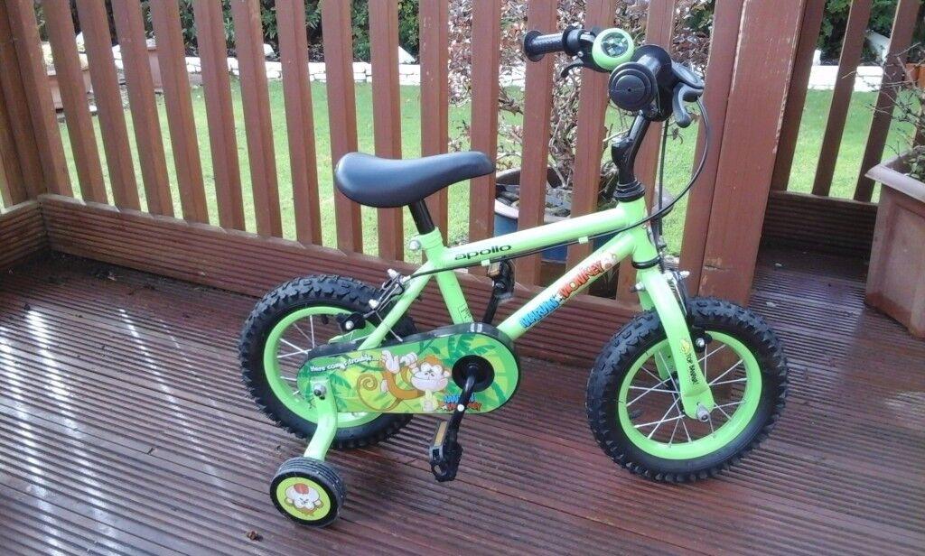 """Boys 12"""" Apollo Bike - as new"""