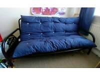 Metal Double Futon Sofa Bed