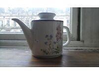 Pretty English Floral Teapot