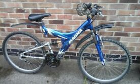 Magna Ascent 15 Speed Suspension Mountain Bike Good Used Condition