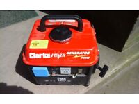 Clarke petrol generator in great condition