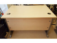 Maple Effect Office Desk - Solid And Sturdy