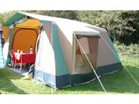 5 Person Canvas Frame Tent