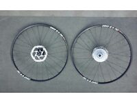 Alexrims dc 4.5 disc double walled 26 inch wheelse