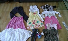 girls bundle, size: 4-5 years old, over 10 items