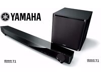 Yamaha YAS-CU201 7.1 Soundbar 160 Watts Black Air Surround Xtreme Home Audio