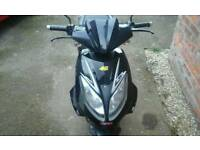 Wk one 50cc scooter 2012