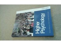 HIGHER PSYCHOLOGY OXFORD book BRAND NEW great for university 1st year+