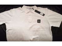 Stone Island Polo shirt top white xxl size brand new unwanted gift ��35