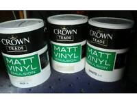 New crown paint
