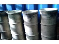 4 Reclaimed Victorian Chimney Pots £30 each - Good Condition - 600mm x 270mm - Buff/Cannon