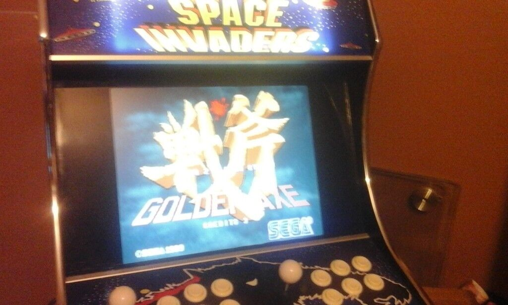 Custom SPACE INVADERS Arcade PC - 2 Player - 100s of Games Galaga Street  fighter Pacman