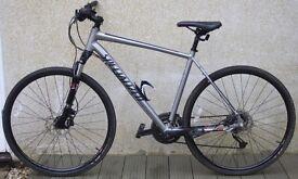 Specialized Crosstrail Sport Disc Hybrid Bike.